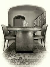 ART DECO DINING TABLE + CLOUD STYLE CHAIRS, BAUHAUS / 'JUNIOR' EPSTEIN / HEALS?