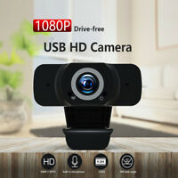 1080P HD Webcam Conference Video Calling Computer Camera With Microphone