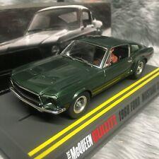 Pioneer 1:32 1968 Ford Mustang GT390 Bullitt Steve McQueen P001 Scalextric DPR