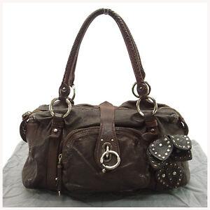miumiu Handbag Brown Woman Authentic Used Y010