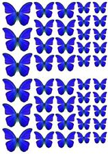 42 Mixed Size Butterfly Sets Edible Rice Paper Wedding Celebration Cake Decor