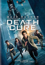 Maze Runner: The Death Cure (DVD, 2018) NEW & FREE SHIPPING
