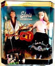"Rare ELVIS PRESLEY  DOLL "" BARBIE LOVES ELVIS "" Gift Set Mattel NRFB"