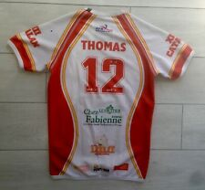 Rugby XIII Maillot Porté Dragons Catalans Taille S Perpignan Match Shirt France