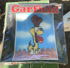 New listing Nos Vintage 1980 Millcraft Garfield Latch-Hook Kit (10�x 23�)odie - New/Sealed