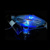 Notebook Laptop USB LED Light Powerful Cooler Fan Cooling Stand Pad