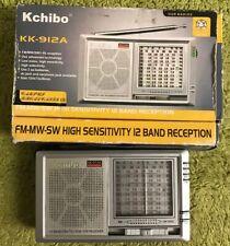Rare Kchibo KK-912A 12 Band Receiver