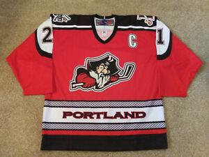 "Portland Pirates Authentic Pro Hockey Jersey - Graham MINK - ""C"" - Size 54 - AHL"