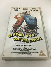 VHS Watch Out We're Mad  PAL Terence Hill Bud Spencer