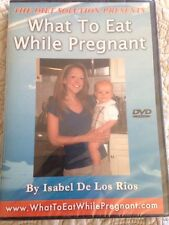 THE DIET SOLUTION WHAT TO EAT WHILE PREGNANT DVD Isabel De Los Rios NEW