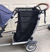 Austlen Entourage Expandable Cargo Bag with Box Baby Toddler Stroller Accessory