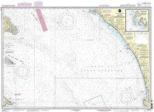 NOAA Chart Gulf of Santa Catalina; Delmar Boat Basin-Camp Pendleton 12th Edition