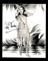 Fay Wray PSA DNA Coa Signed 8x10 King Kong Photo Certified Autograph