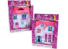 Case di bambole e miniature in plastica Set