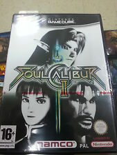 Pal version Nintendo GameCube Soul Calibur II