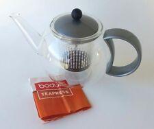 BODUM Tea Press Coffee Pot Glass Plastic Strainer French Kitchen Appliance Mint