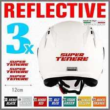 3x Yamaha Super Tenere XT 1200 Z Rerflective Red ADESIVI PEGATINA STICKERS