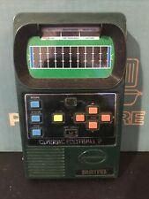 New listing Vintage Mattel 1978 Football II 2 Electronic Football Handheld Game Tested