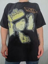 Aerosmith Steven Tyler 1997 100% Short Sleeve Cotton Tee Sz M's L Rock Vintage
