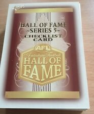 2018 Select Legacy HALL of FAME Limited Edition Full Set (34 Cards)