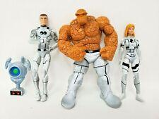 "Hasbro 2011 Marvel Universe Future Foundation Fantastic 4 3.75"" Figures Loose"
