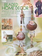 Beaded Home Decor  Beading Booklet - 20 Fun Easy Projects To Make