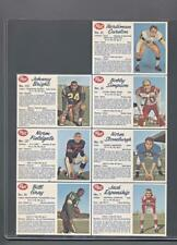1962 Post Cereal CFL Uncut Panel (Bright, Fieldgate, Simpson)