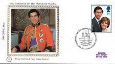 1981 Royal Wedding Benwell (BS5a) First Day Cover Caernarfon Cancellation
