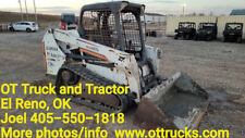 2014 Bobcat T550 Open Cab Rubber Track Skidsteer Loader Used