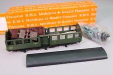 ZA1262 RMA CPMR Voiture Ho 101 Kit  Voyageurs 2 SNCF B8 tm 56035 3 essieux