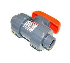 "NEW HAYWARD 1/2"" TRUE UNION PVC BALL VALVE EPDM  MODEL TB1050STE"