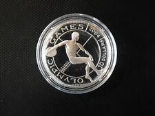 Cook Island 10 Dollars 2001 Antiker Diskuswerfer Silber PP