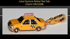 Authentic 2007 JUICY COUTURE Gold Plate N.Y.C. Yellow Taxi Cab Charm YJRU1048