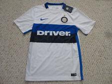 NWT Nike 2015/2016 Inter Milan White Away Jersey (Men Size Small)