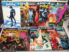 DC Comics NIGHTWING REBIRTH 12 BOOK LOT # 1-22 KING SHARK THE FLASH VF 2016