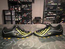 RARE 2009 Adidas F5-9 TRX HG Mens Soccer Cleats Size 11.5 Black Yellow White