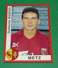 N°180 MASSON FC METZ ST SYMPHORIEN PANINI FOOT 95 FOOTBALL SAISON 1994-95
