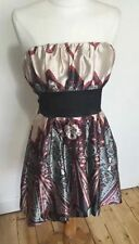 New Look Polyester Paisley Sleeveless Dresses for Women