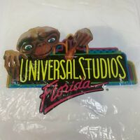 Universal Studios ET The Extra-Terrestrial Vintage 1994 Graphic Shopping Bag Vtg