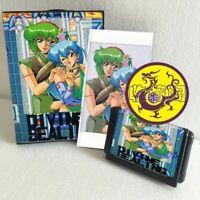 Divine Sealing 16 bit SEGA MD Game Card Boxed With Manual For Sega Mega Drive