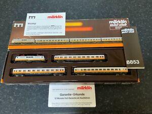 Marklin spur z scale/gauge 'Lufthansa Express' Train Set. MHI.