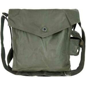 GAS MASK BAG CHEMICAL BIOLOGICAL EAST GERMAN TANK MASK CASE POUCH
