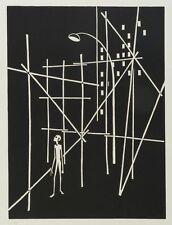 Herbert Seidel - o.T. - Holzschnitt - 1981 - 3/10 - postumer Druck z. 75. Geb.