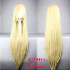 Fashion Cosplay Full Wig 25 Color Synthetic Hair Costume Wigs Fancy Anime COS
