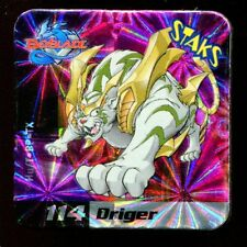 STAKS STAKS AIMANT MAGNET BEYBLADE N° 114 DRIGER HOLO