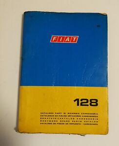 Fiat 128  org.. Ersatzteilkatalog Karosserie parts catalog 1974