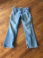 Women's Levi Strauss Signature Mid Rise Boot Cut Jeans Size Misses 8 Short