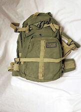 Tactical Barrage 3 Day Pack Backpack - Olive Green