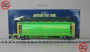 American Flyer (High Rail) 6-48655 Illinois Terminal Cylindrical Hopper Car