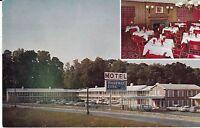 "Atlanta GA  ""Yogi's Restaurant/Lounge, Roadway Inn Motel""  Postcard Georgia"